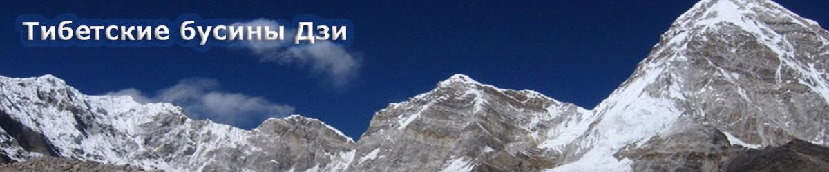 Тибетские бусины Дзи